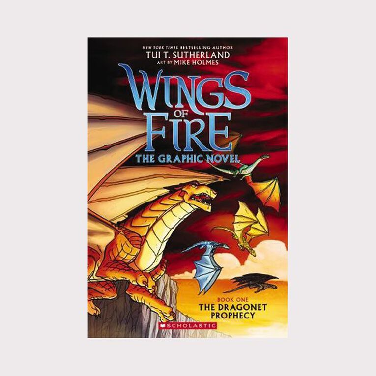Wings of Fire Graphic #1 The Dragonet Prophecy by Tui T Sutherland, , hi-res image number null
