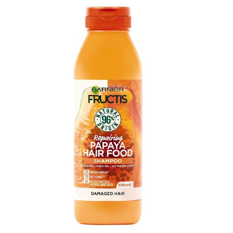 Garnier Fructis Hair Food Papaya Shampoo 350ml, , hi-res
