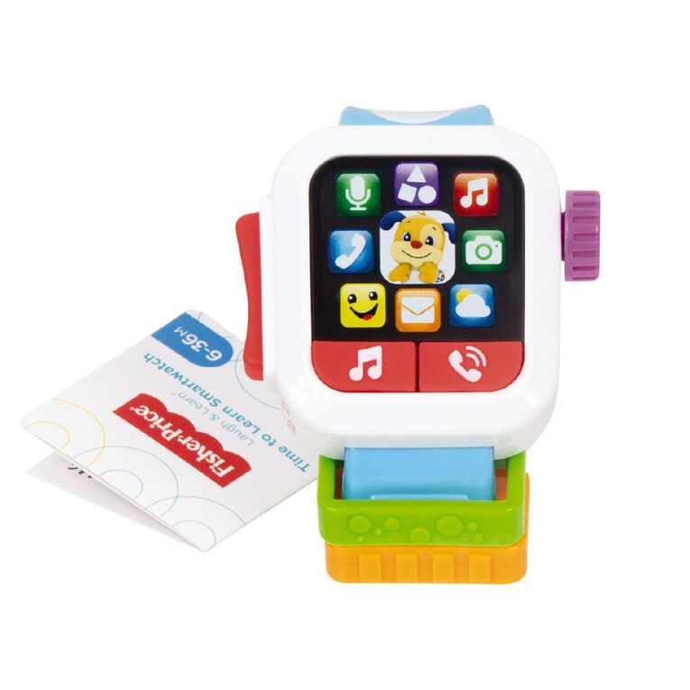 Fisher-Price Laugh & Learn Time to Learn Smartwatch, , hi-res