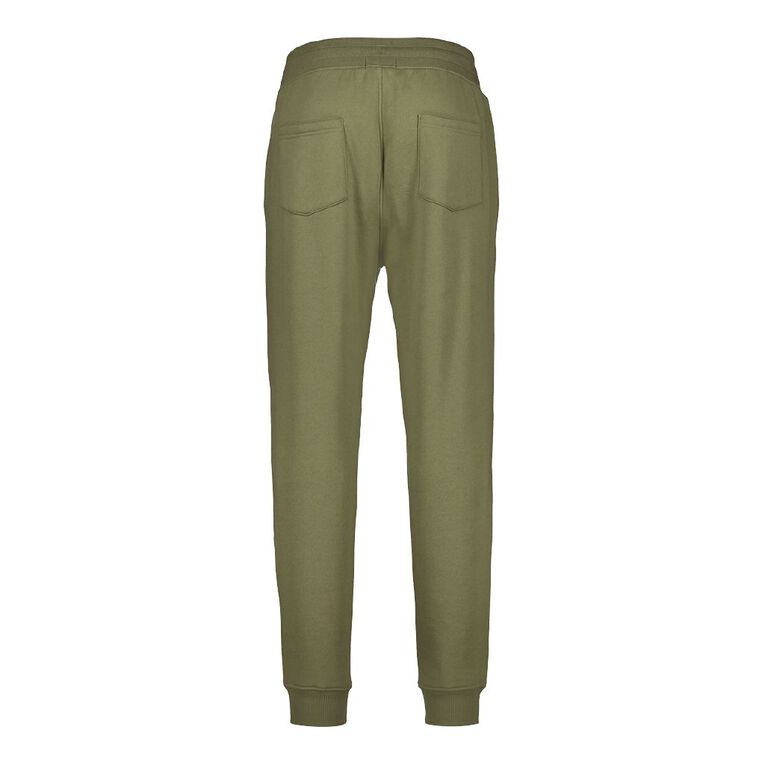 H&H Men's Jogger Trackpants, Khaki, hi-res