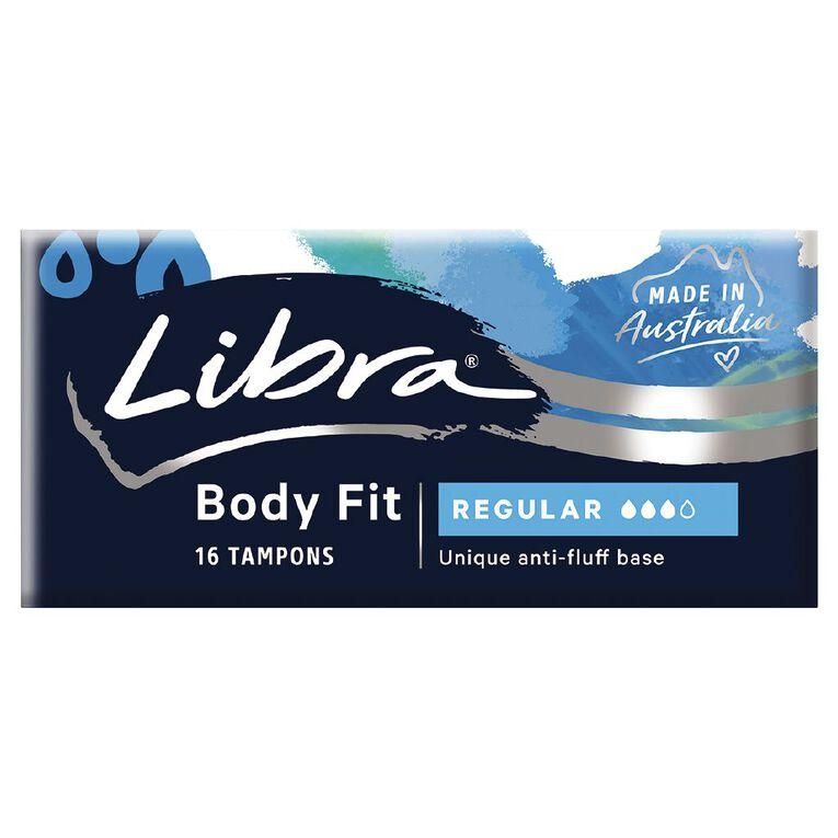Libra Body Fit Tampon Regular 16 Pack, , hi-res