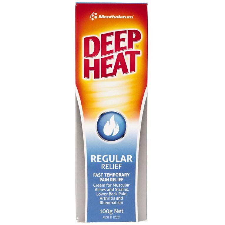 Deep Heat Regular Rub 100g, , hi-res