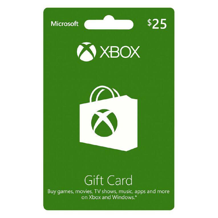 Xbox Live $25 Gift Card, , hi-res