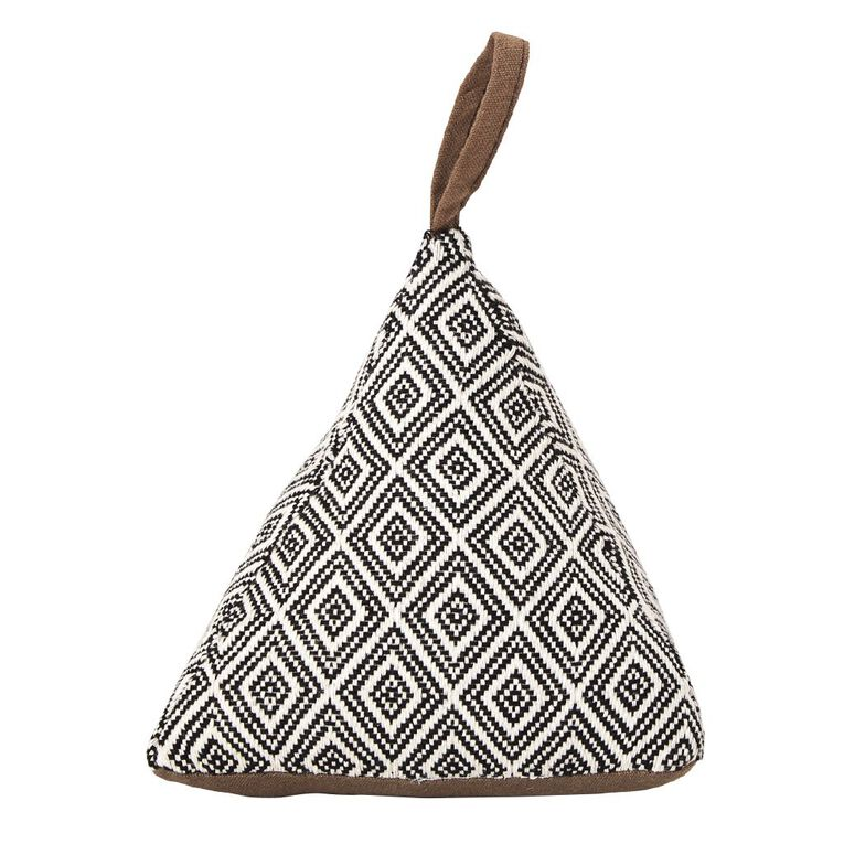 Living & Co Triangle Door Stop Multi-Coloured 16cm, Multi-Coloured, hi-res image number null