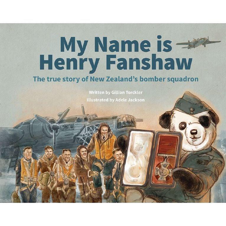 My Name Is Henry Fanshaw by Gilian Torckler & Adele Jackson, , hi-res