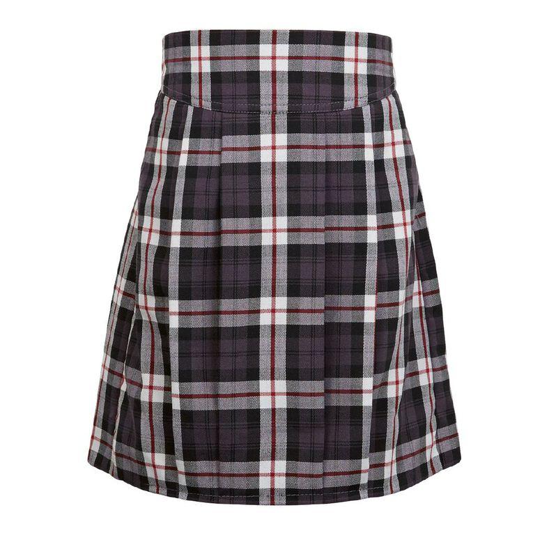 Schooltex Tartan School Skirt, Schooltex Tartan TRT003, hi-res