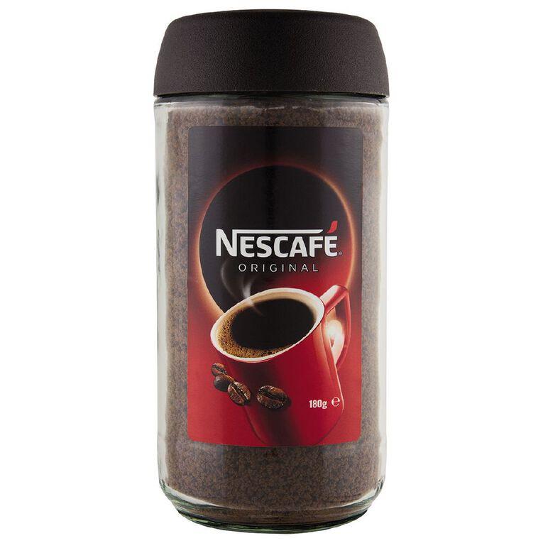 Nescafe Original Coffee 180g, , hi-res