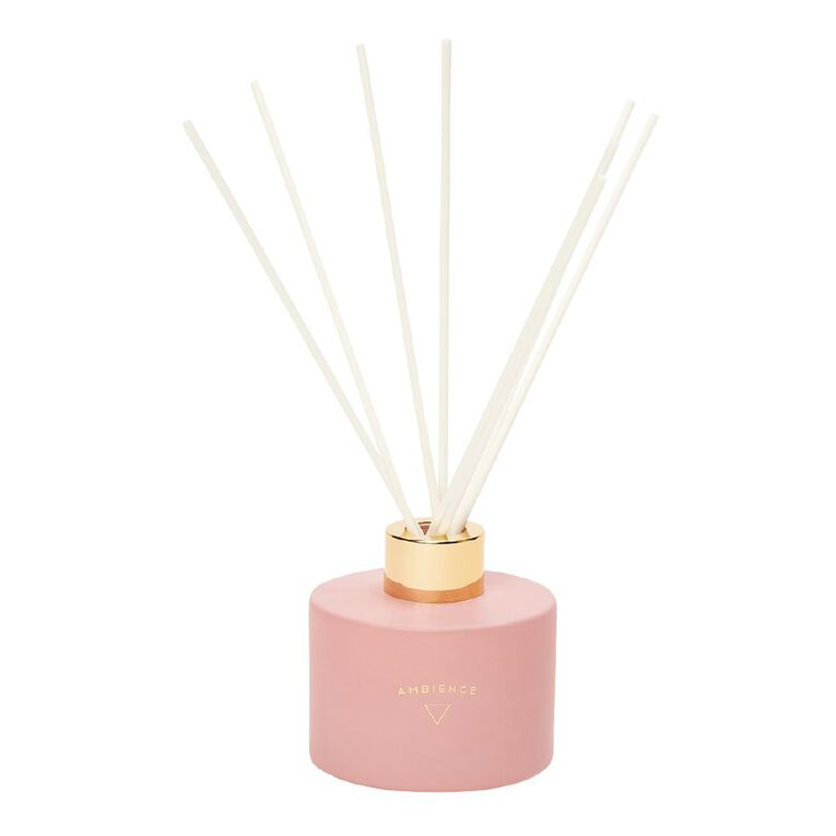 Living & Co Ambience Diffuser Berry Royale Pink 120ml, Pink, hi-res