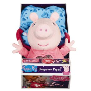 Peppa Pig Plush Sleepover Peppa
