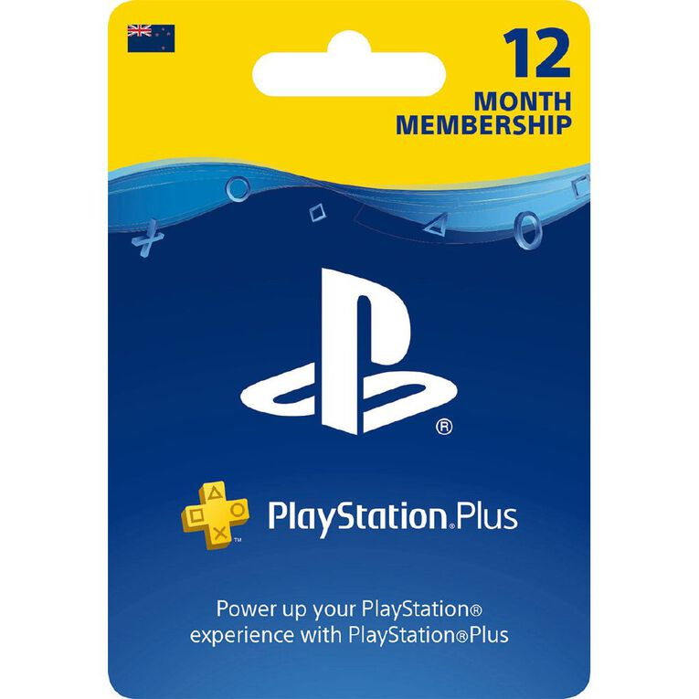 Sony PlayStation Plus 12 Month Membership, , hi-res