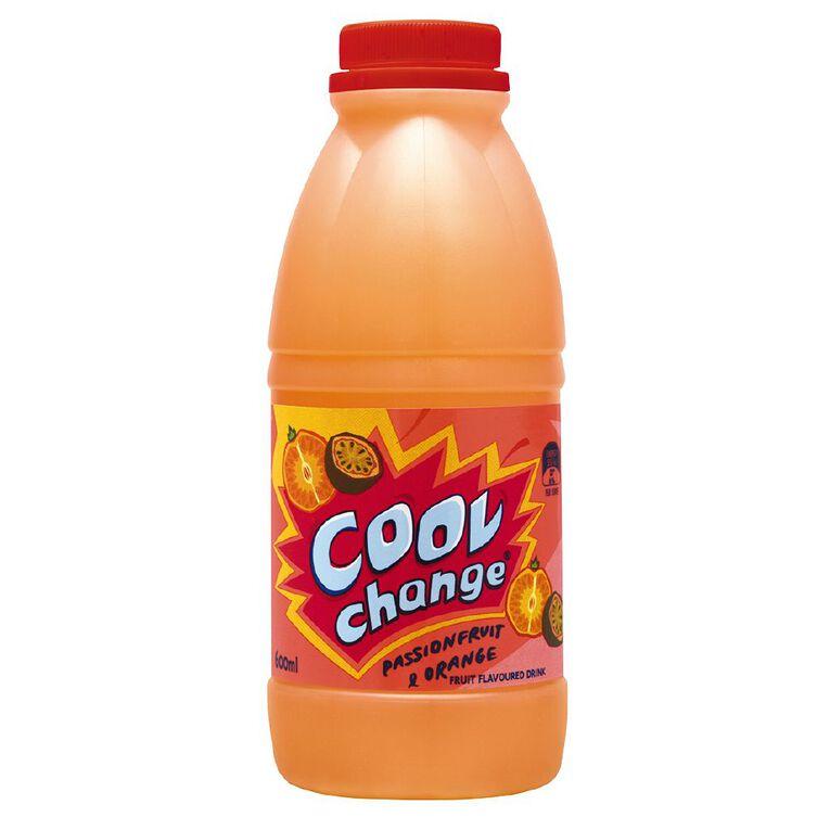 Cool Change Passionfruit & Orange 600ml, , hi-res