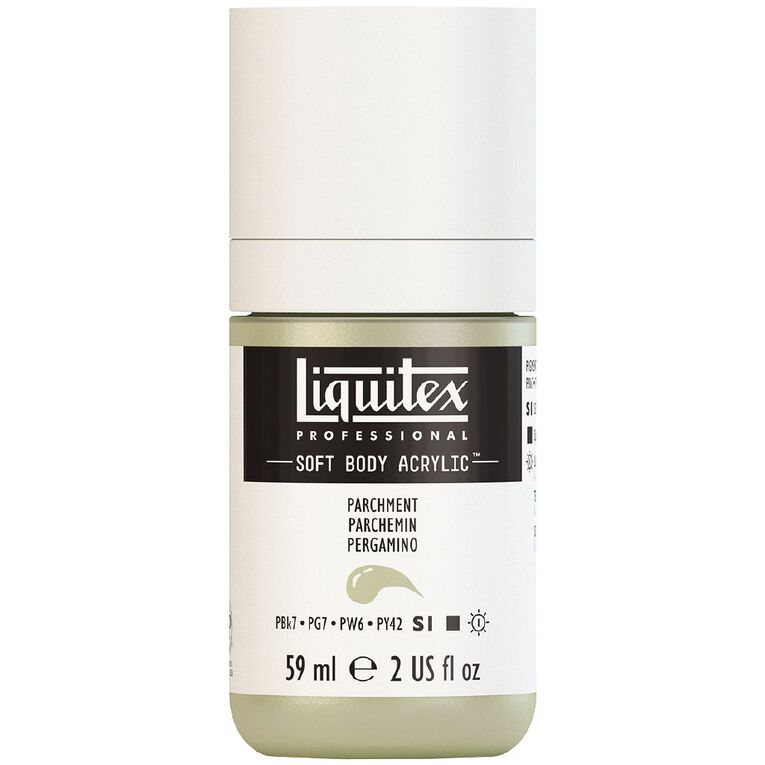 Liquitex Soft Body Acrylic 59ml Parchment S1, , hi-res
