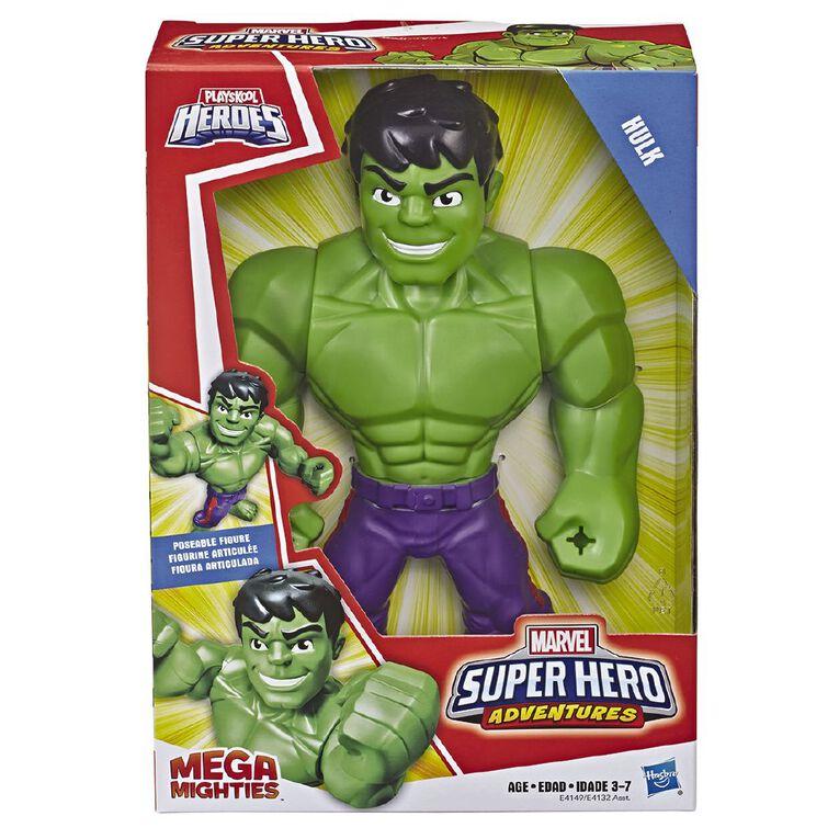 Marvel Playskool Heroes Adventures Mega Mighties 10 inch, , hi-res