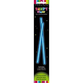 Artwrap Glow Necklace 48cm Blue 2 Pack
