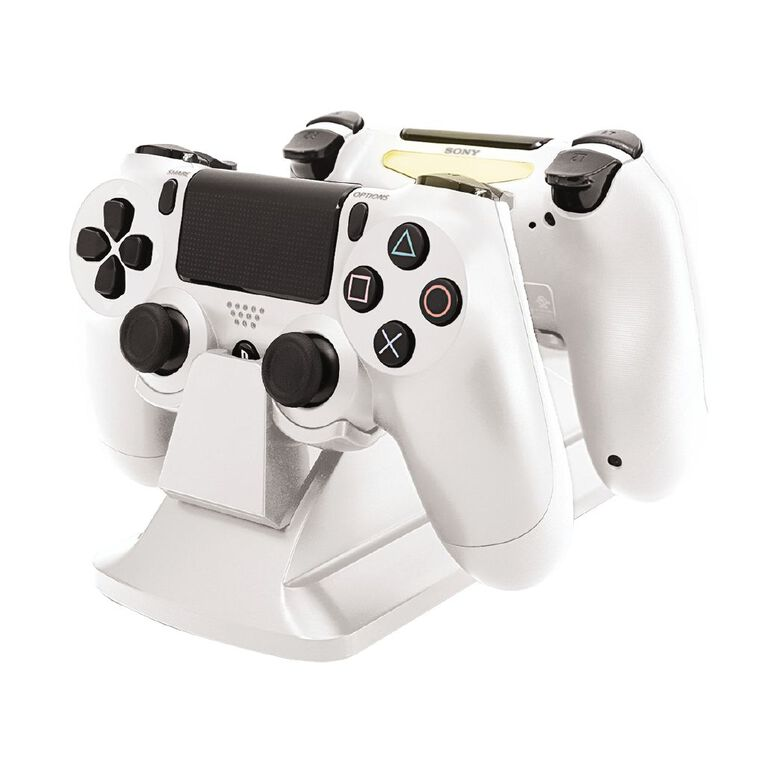 PowerPlay PS4 Dual Charging Station White, , hi-res
