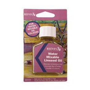 Reeves Watermixable Linseed Oil Clear