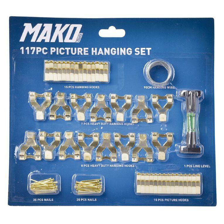 Mako Picture Hanging Set 117 Piece, , hi-res