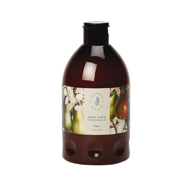 Winter Fruit Sweet Pear And Honey Suckle Shampoo 400ml, , hi-res