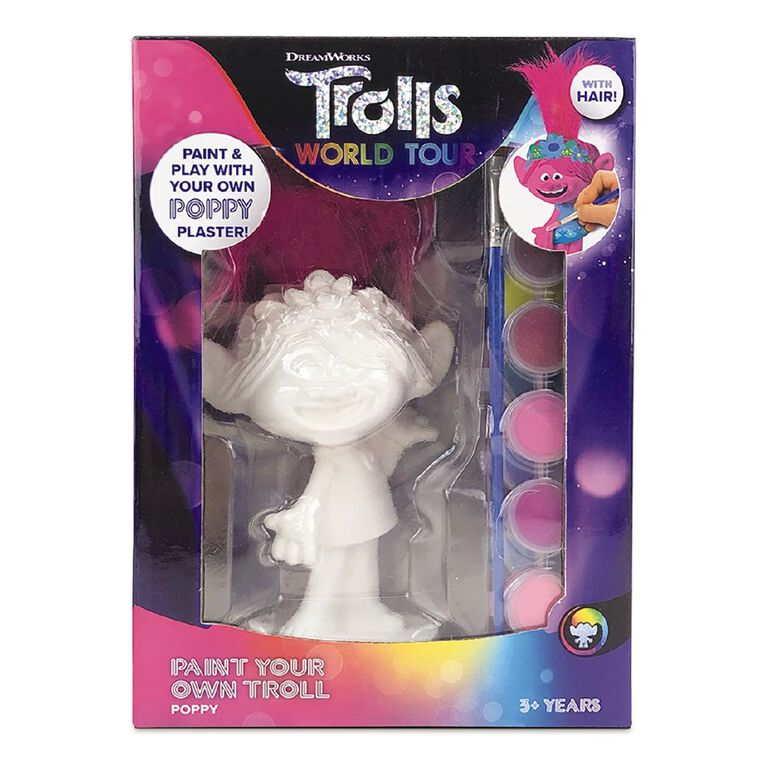 Trolls 2 Paint Your Own Plaster, , hi-res