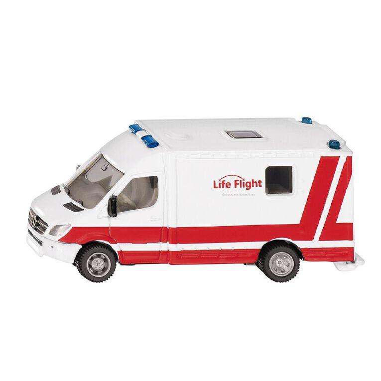 Siku NZ 1:87 Life Flight Westpac Rescue Helicopter & Mercedes Ambulance, , hi-res