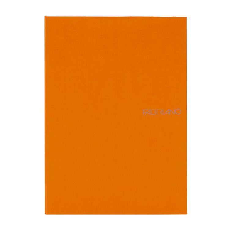 Fabriano Ecoqua Sketchbook Dotted 85GSM 90 Sheets Orange A5, , hi-res