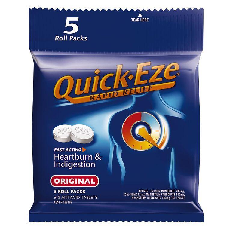 Quick Eze Antacid Original Multipack 5 Pack, , hi-res
