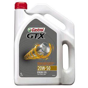 Castrol Oil GTX 20W-50 SN 4L