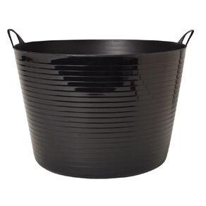 Living & Co Round Flexi Tub Black 60L