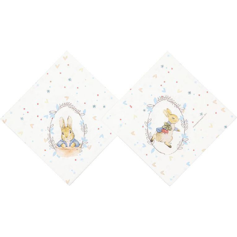 Peter Rabbit Beatrix Potter Napkins 33cm 2 Ply 20 Pack, , hi-res