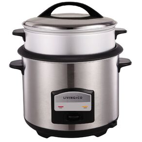 Living & Co Rice Cooker 13 Cup