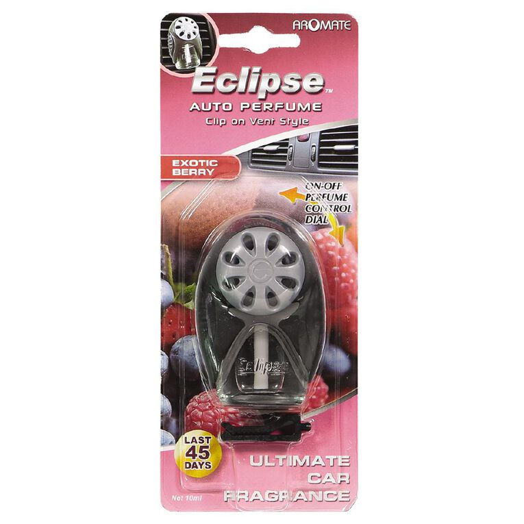 Aromate Eclipse Vent Mount Car Air Freshener Exotic Berry, , hi-res