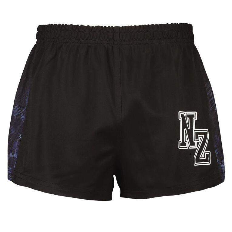 Active Intent Men's Supporter League Shorts, Black, hi-res