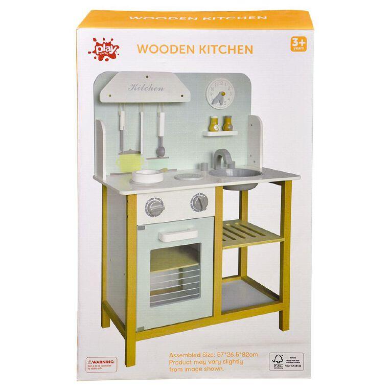 Play Studio Wooden Kitchen, , hi-res