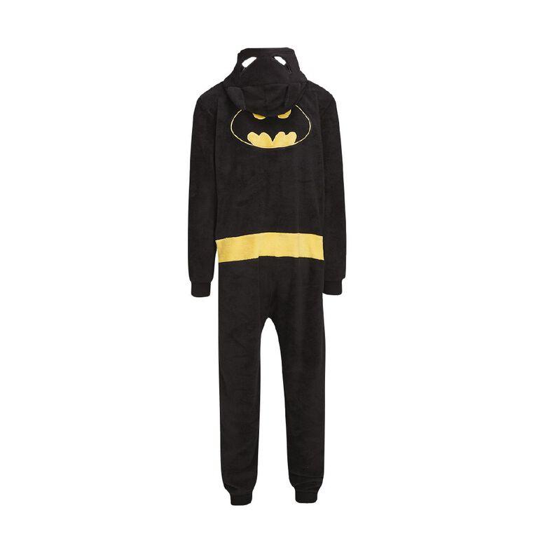 Batman Men's Onesie, Black, hi-res