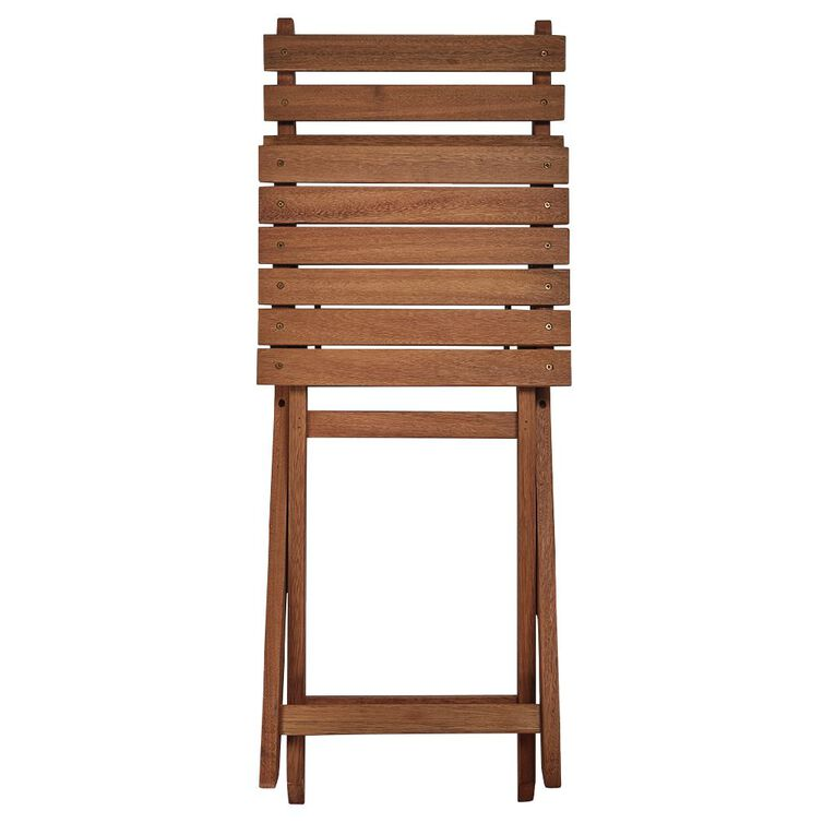 Living & Co Easy Fold  Wooden Bistro Chair, , hi-res