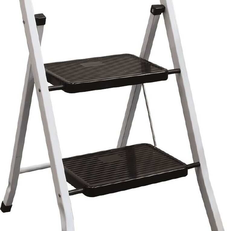 Bulldog 2 Step Steel Ladder, , hi-res