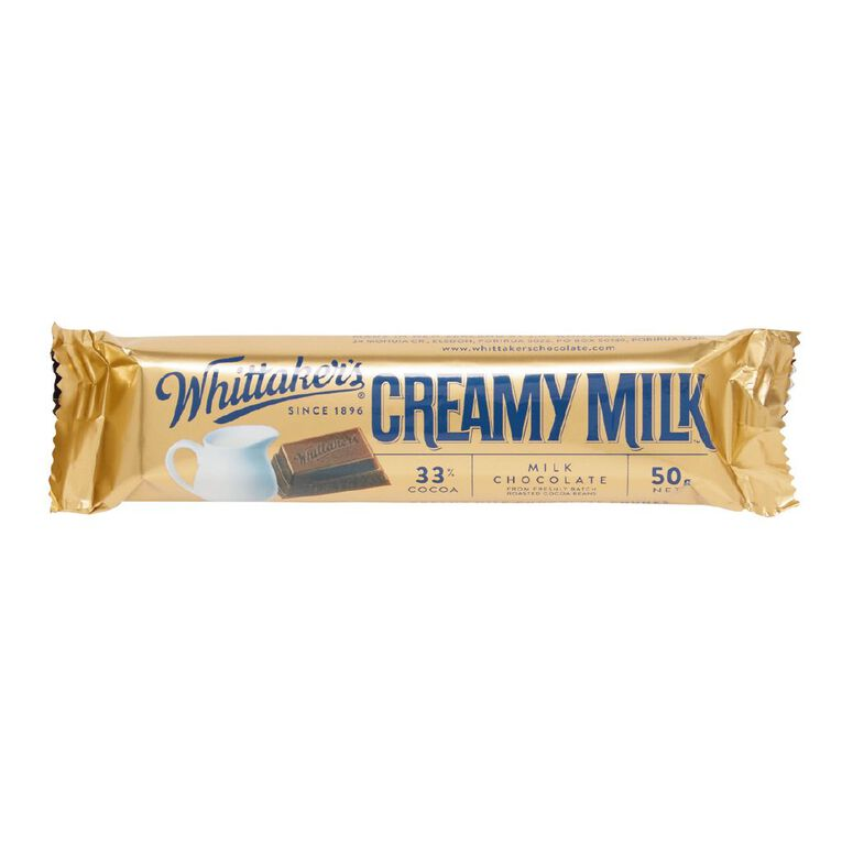 Whittaker's Creamy Milk Chunk 50g, , hi-res