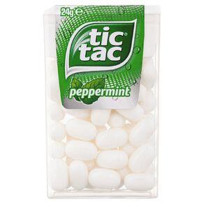 Tic Tac Peppermint 24g
