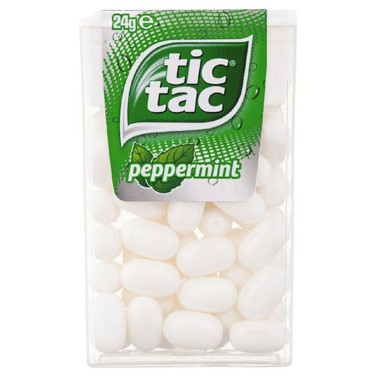 Tic Tac Peppermint 24g, , hi-res
