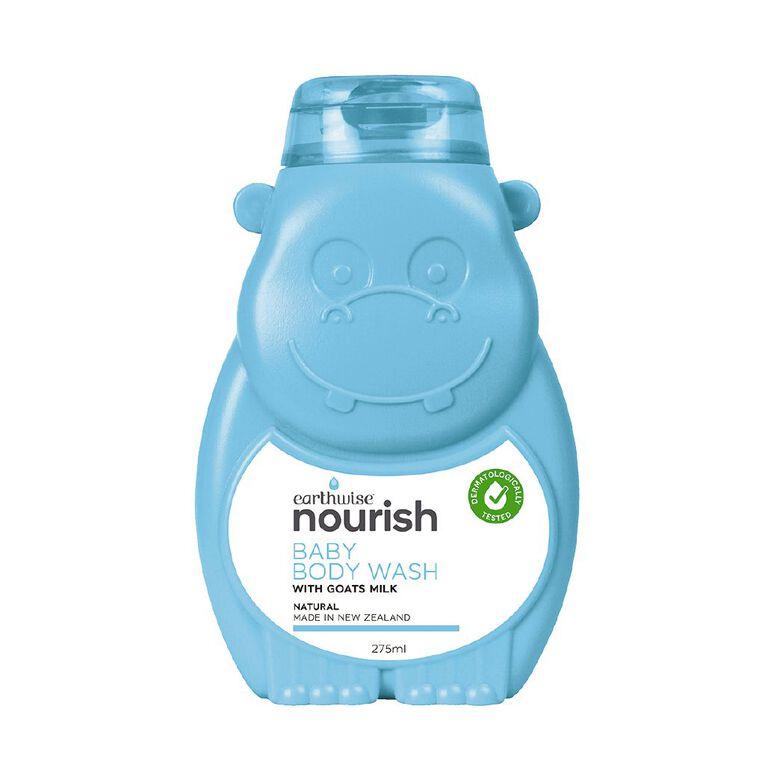 Earthwise Nourish Goat Baby Body Wash 275ml, , hi-res