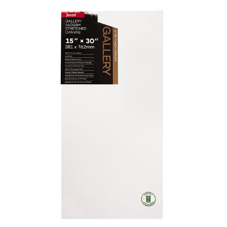 Jasart Gallery 1.5 inch Thick Edge Canvas 15x30 inches, , hi-res