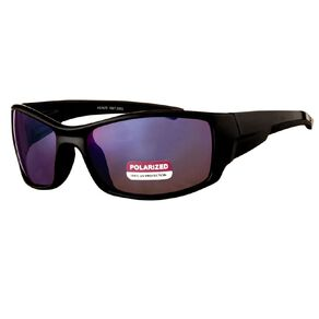 Beach Works Men's Wrap Polarised Sunglasses