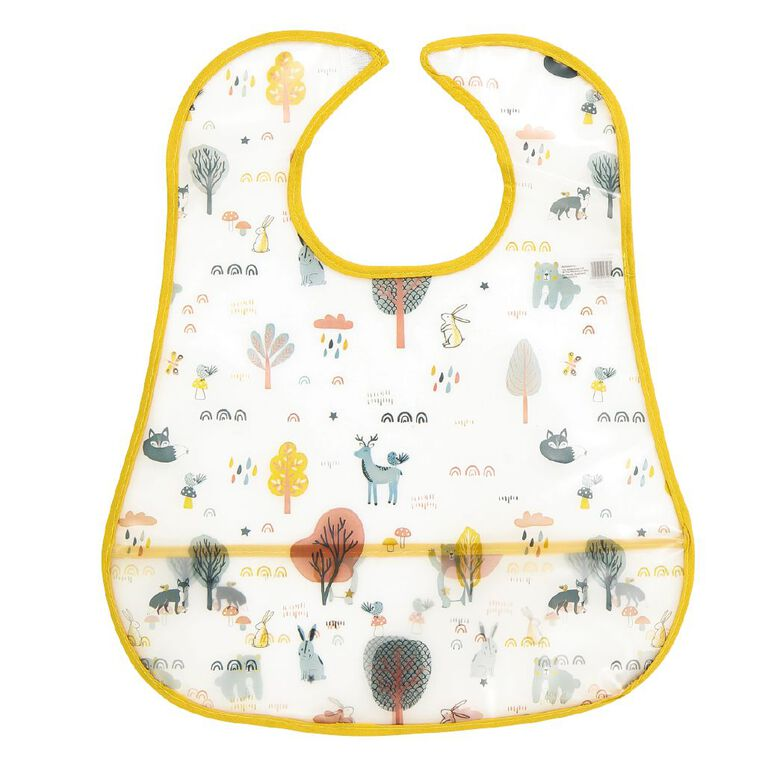 Babywise Food Catching Bibs Assorted 2 Pack, , hi-res