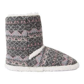H&H Aztec Slipper Boots