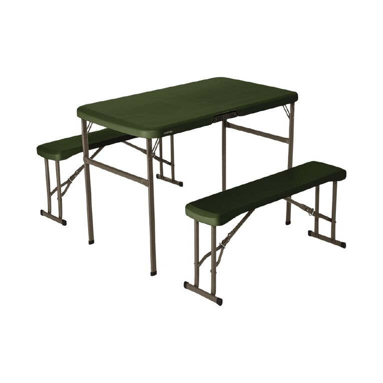 Lifetime Folding Picnic Table with Benches, , hi-res