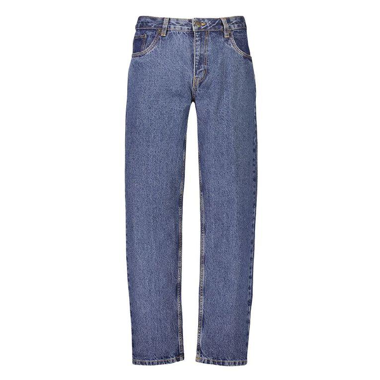 Rivet Men's Classic Jeans, Denim Mid, hi-res