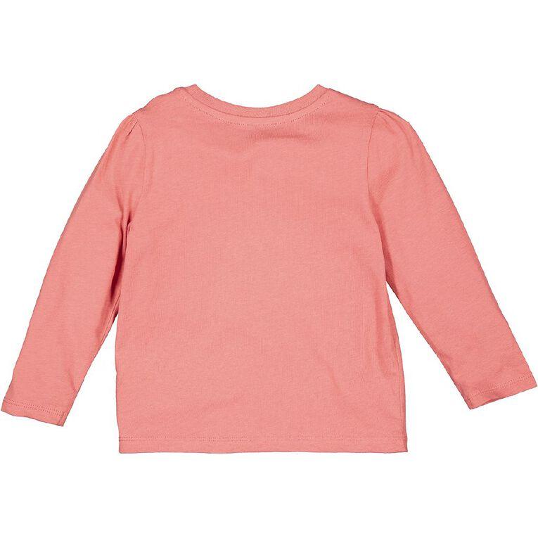 Young Original Toddler 2 Pack Long Sleeve Tees, Pink Mid, hi-res