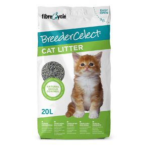 BreederCelect Recycled Paper Cat Litter 20Lt