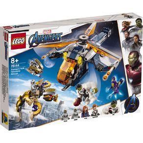 LEGO Marvel Super Heroes Avengers Hulk Helicopter Drop 76144