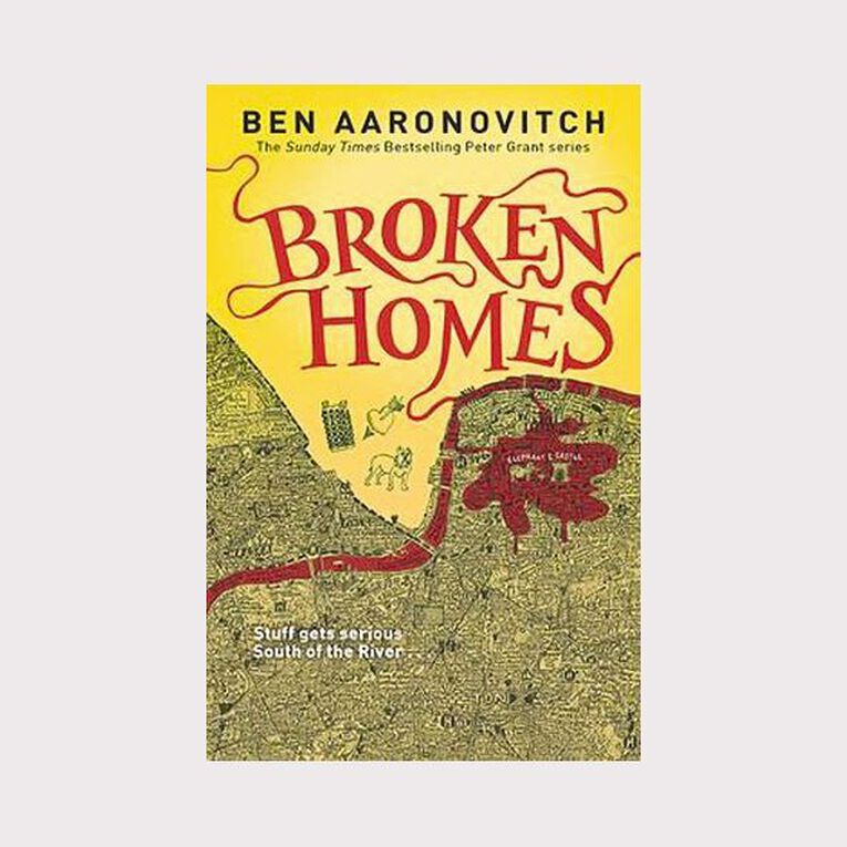 Rivers of London #4 Broken Home by Ben Aaronovitch, , hi-res
